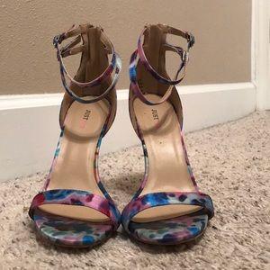 Floral JustFab heels